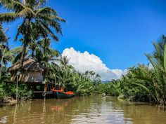 The river houses of Kampot