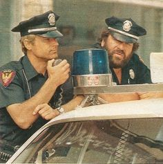Zwei außer Rand und Band 1977 mit Bud & Terence