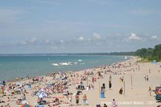 Is one of the happing places to be during the summer time. (located on lake Huron) Visit Canada, O Canada, Weekend Trips, Day Trips, Oh The Places You'll Go, Places To Visit, Lake Huron, I Love The Beach, Camping Spots