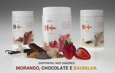 Mais Feliz com Hinode: Tabela Nutricional Shake H+
