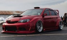 Subaru WRX Sti performing with sporty, so many consumers are approached because adrift in terms of body and elegant look. Subaru Impreza Sti, Wrx Sti, Bmw Electric Car, New Luxury Cars, Car For Teens, Japan Cars, Cute Cars, Car Tuning, Rally Car