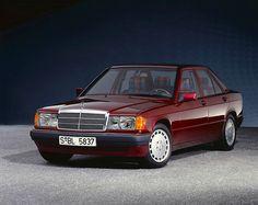"""1992 Mercedes-Benz 190 E Avantgarde """"Rosso"""" Mercedes 190, Mercedes Benz Germany, Classic Mercedes, Mercedes Benz Cars, Merc Benz, Daimler Benz, C Class, Motor Car, Auto Motor"""