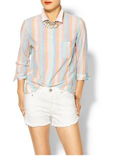 the shirt & the necklace, but not the unfinished shorts.