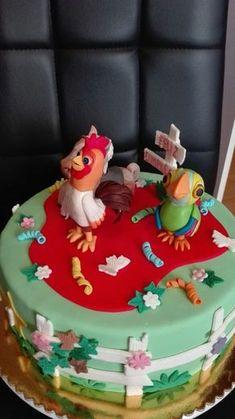 Saralina :: Torta La Granja de Zenon Farm Birthday, Childrens Party, Birthday Invitations, Minions, Frozen, Baby Shower, Crafts, Food, Emoticon