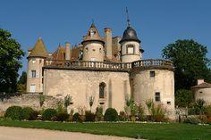 Château de la La Barge - près de Courpière, Puy-de-Dôme, Auvergne