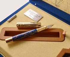 To celebrate its 130th years of innovations and exeptional craftsmanship, PARKER has created the Duofold Limited Edition, the Craft of Traveling with 1,300 in homage of its founder George S. Parker and his passion to discover the world. #parker #pens #fountainpen #casadellastilografica