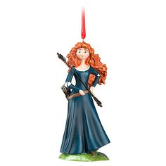 Madison's ornament this year: Merida Sketchbook Ornament | Home & Decor | Holiday | Brave | Disney Store