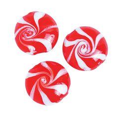 Peppermint Swirl Beads - OrientalTrading.com