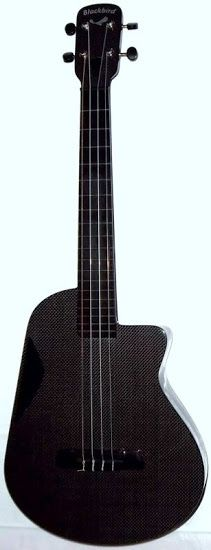 My Blackbird Carbon Fibre Acoustic Tenor #LardysUkuleleOfTheDay ~ https://www.pinterest.com/lardyfatboy/lardys-ukulele-of-the-day/ ~