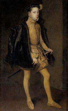 anthonis mor - portrait of alessandro farnese (b.1545 - d.1592) 2nd half 16th century