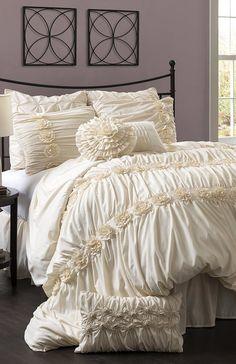 Ivory Darla Comforter Set