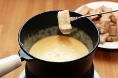 Fonduta di formaggio valdostana