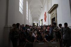 Accademia di Belle Arti waiting for Steve McCurry #McCurry #SensationalUmbria #SU14 #Accademia #art #Perugia #mostra #Fotografia #Photography #exhibition #Umbria
