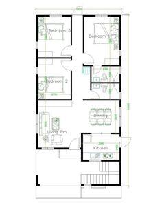 Unique House Plans, Indian House Plans, My House Plans, Duplex House Plans, House Layout Plans, Family House Plans, Small House Plans, House Layouts, Bungalow Floor Plans