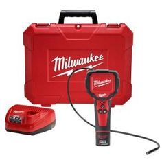 Milwaukee M12 12-Volt Lithium-Ion Cordless M-Spector 360 Digital Inspection Camera Kit-2313-21 at The Home Depot
