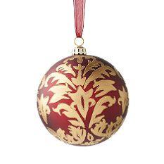 Williamsburg® Regency Burgundy Ornament