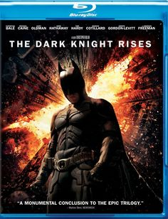 The Dark Knight Rises - Blu-ray - The Legend Ends.Witness it as it happens, in thrilling Blu-ray sound and picture.It has been eight years since Batman (Bale) vanished into the night, turning, in that instant, from hero to fugitive. Assuming the blame for the death of D.A. Harvey Dent, the Dark Knight sacrificed everything for what he and Commissioner Gordon (Gary Oldman) both hoped was the greater good. For a time the lie worked, as criminal activity in Gotham City was crushed under the…
