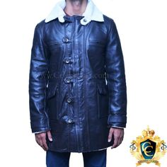 If you want to embrace your dark side and unleash your inner super villain on the world, what better way to do so than by wearing our stylish Genuine Leather Bane Coat.  http://www.celebsclass.com/product/bane-coat-black-cowhide-leather-jacket-batman-dark-knight-rises/