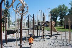Balmoral school playground - Calgary, AB -