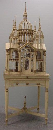 Victorian palace bird cage.... wow and expensive!