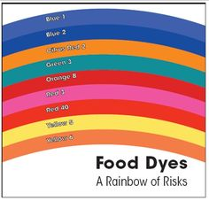 Food Dyes - A Rainbow of Risks!  Cork N' Andy's Candy: Food additive Free & Preservative Free artisan small batch candy! Made with love in San Francisco  http://corknandys.com