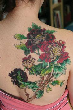 FEMININE FLOWER TATTOOS - Google Search