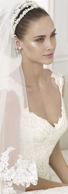 PRONOVIAS 2015 Fashion and Bridal Collection  wedding dress #weddingdress /wedding-dresses-us62_25