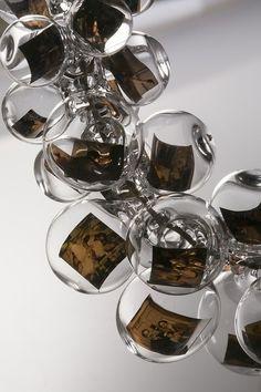 photo bubble necklace