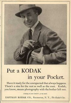 Kodak – Put a Kodak in your Pocket