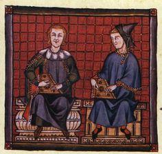 Spain-Alfonso X (1221-1285) Cantigas http://www.pbm.com/~lindahl/cantigas/images/cantiga_3.jpg