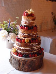 Carrot cake, Blueberry and lemon, lemon drizzle cakes