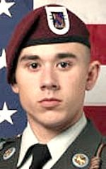 Army SGT Christopher N. Karch, 23, of Indianapolis, Indiana. Died August 11, 2010, serving during Operation Enduring Freedom. Assigned to 2nd Battalion, 508th Parachute Infantry Regiment, 4th Brigade Combat Team, 82nd Airborne Division, Fort Bragg, North Carolina. Died of wounds sustained when hit by enemy small-arms fire during combat operations in Arghandab Valley, Afghanistan.