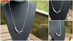 """Collier en Labradorite """"Protection & Infini"""" : Collier par perle-de-chamane"""