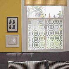 trellis decorative window film by brume | notonthehighstreet.com