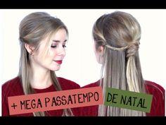 Penteado de Natal #1 + MEGA PASSATEMPO DE NATAL | Alice - Golden Locks
