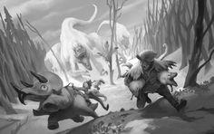 ArtStation - Dino Theft, Ishmael Hoover