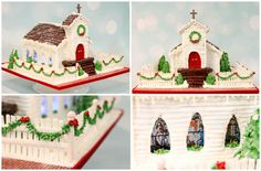 Country Church Gingerbread