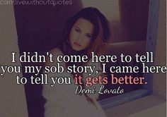 Demi Lovato quote #life #recovery #demi