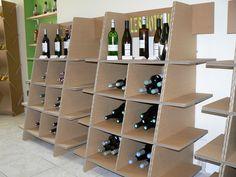 Une boutique en carton - Orika! Mobilier carton