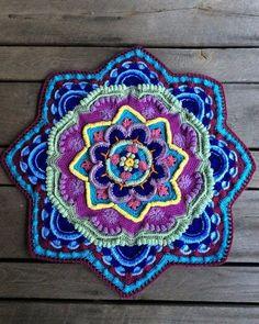tag de mandalas paso a paso   Imagenes con distintos diseños de mandalas tejidas a crochet