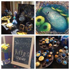 Van Gogh Starry Night Bridal Shower Theme @Meg