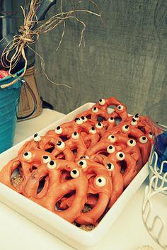 Pretzel crabs