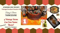 Can you guess today's classic vintage product puzzle? Vintage Thanksgiving, Happy Today, Classic Tv, Trivia, Vintage Items, Household, Puzzle, Presents, Antique