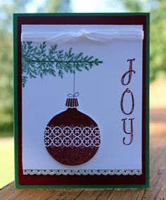 AnnMarie's Stamping Adventures!!: Christmas card class!