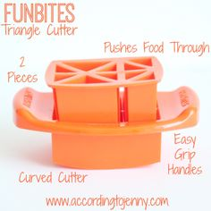 FunBites Orange Triangles