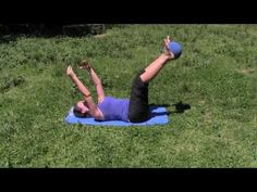 Rutina de pilates con pelota - YouTube