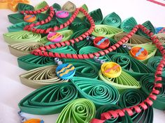 quilling christmas tree on Behance