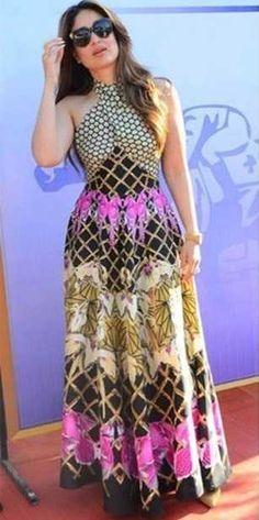 Kareena Kapoor Khan wears the Temperley London Summer '16 Halter Neck Lepina Dress