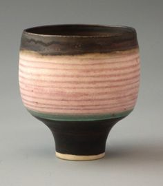 Small pot by Lucie Rie and associated items to : Lot 201