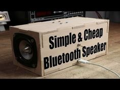 Make Your Own Simple & Cheap Portable Bluetooth Speaker : 5 Steps (with Pictures)